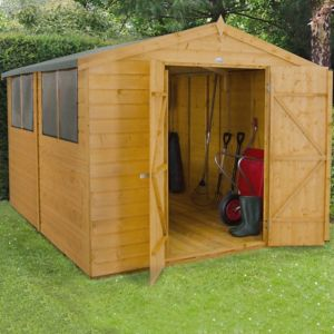 8X10 Apex Shiplap Wooden Shed with Assembly Service Review thumbnail